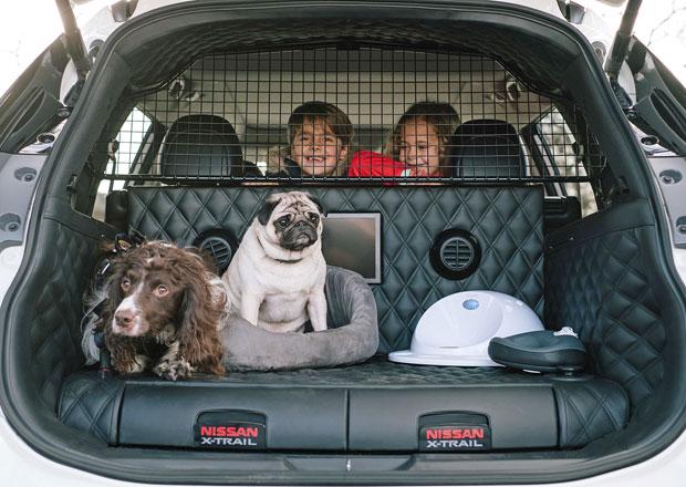 Nissan X-Trail 4Dog je koncept ideálního vozu pro majitele psů (+video)