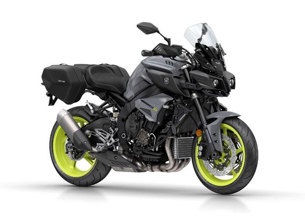 Yamaha MT-10 Tourer Edition pro cestovatele s výtržnickými sklony