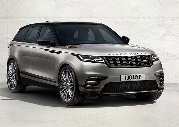 Range Rover Velar oficiálně: Sportovní range šokuje interiérem