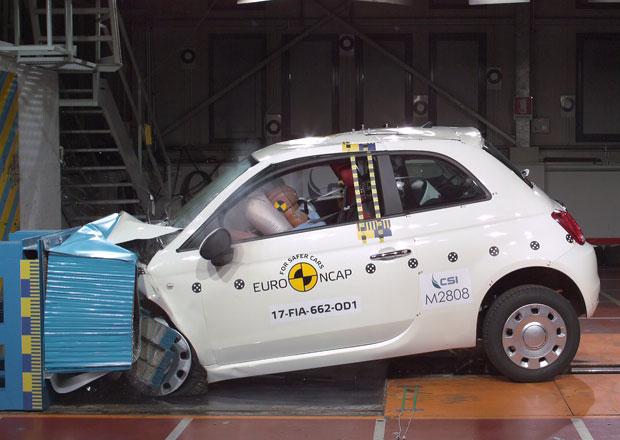 Euro NCAP 2017: Fiat 500 – Ministylovce se hodně nedařilo