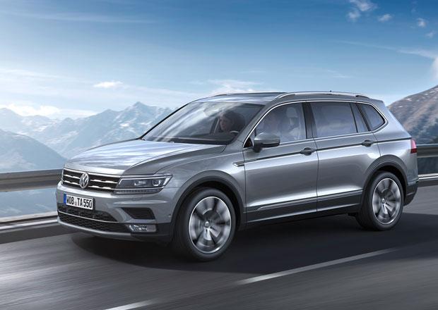 Volkswagen Tiguan Allspace: Detaily o evropské verzi kodiaqu z Wolfsburgu