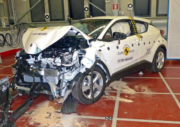 EuroNCAP 2017: Toyota C-HR – Pět hvězd hned napoprvé