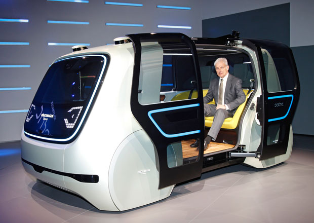 Volkswagen Sedric: Autonomita ve vrcholné formě