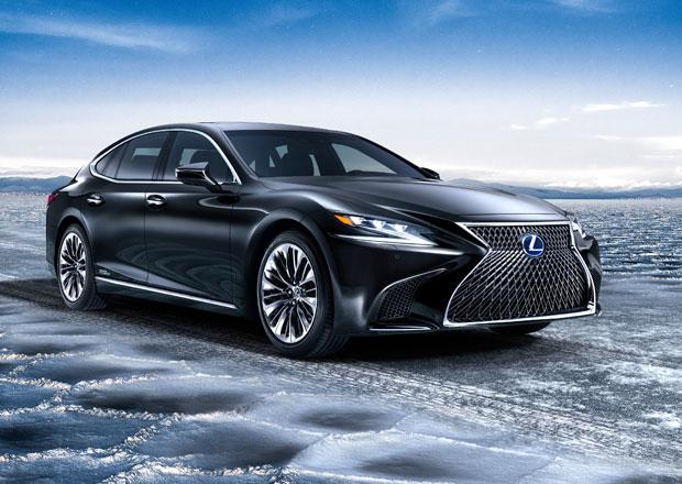Lexus LS 500h: Luxusní hybrid na druhou