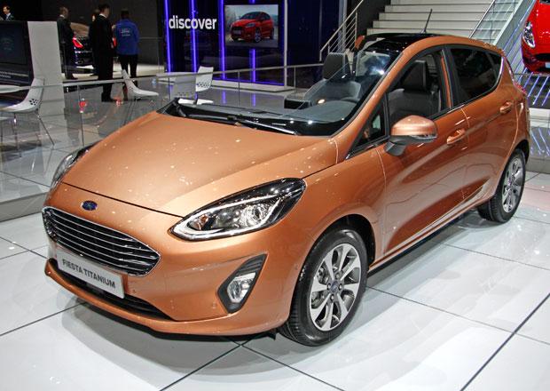 Ford Fiesta v Ženevě: Proč je jich tak málo? A mohli jsme se alespoň posadit?