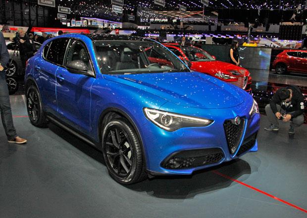 Alfa Romeo Stelvio naživo. Není trochu baculatá?