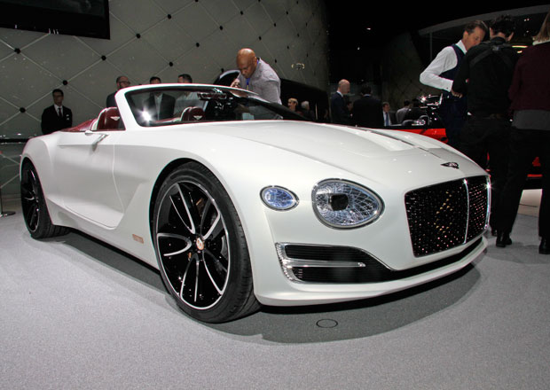 Bentley EXP 12 Speed 6e má definovat luxusní elektromobil (+video)