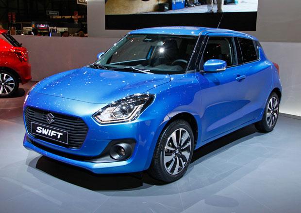 Nový Suzuki Swift: Bez dieselu, zato s hybridem