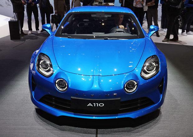 Alpine A110 má motor 1.8 TCe a 252 koní. Bude i v Česku, má to ale háček…