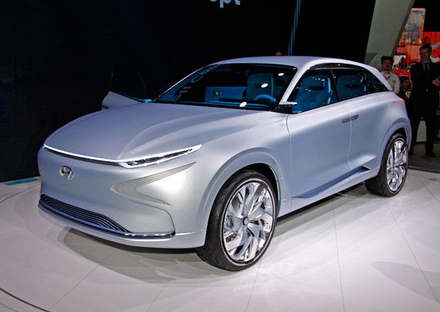 Hyundai FE Fuel Cell Concept přijíždí s novou generací palivových článků