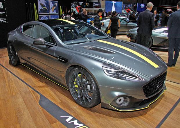 Aston Martin Rapide a Vantage dostanou ostřejší verze AMR