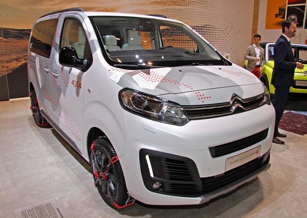 Citroën SpaceTourer 4x4 Ë Concept pro stylové trávení volného času