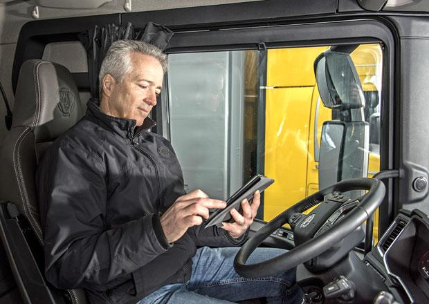 Scania hlásí již 250.000 propojených a komunikujících vozidel