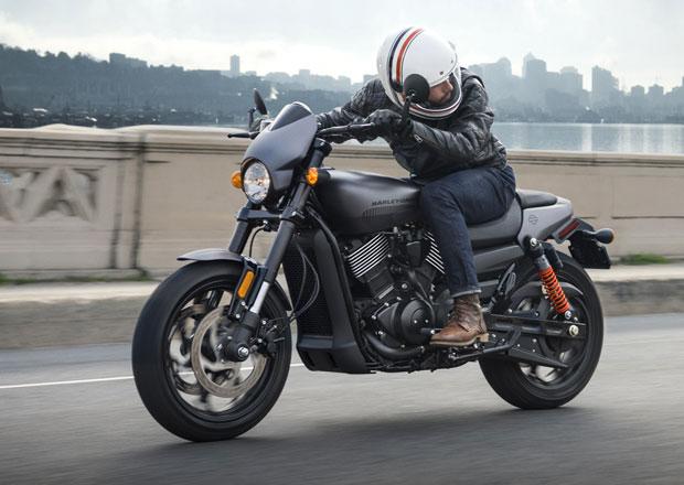 Harley-Davidson Street Rod: Opravdu chcete do města na skútru? (+video)