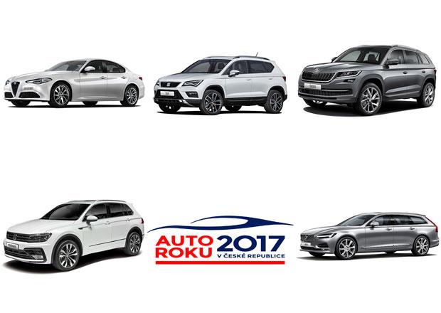 Již dnes večer budeme znát Auto roku 2017 v ČR. Tipnete si vítěze?