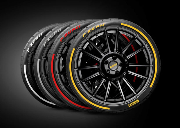 Firma Pirelli ukázala v Ženevě inteligentní a barevné pneumatiky