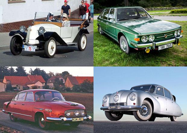 Tatra začala s výrobou osobních aut před 120 lety. Připomeňte si ty nejslavnější!