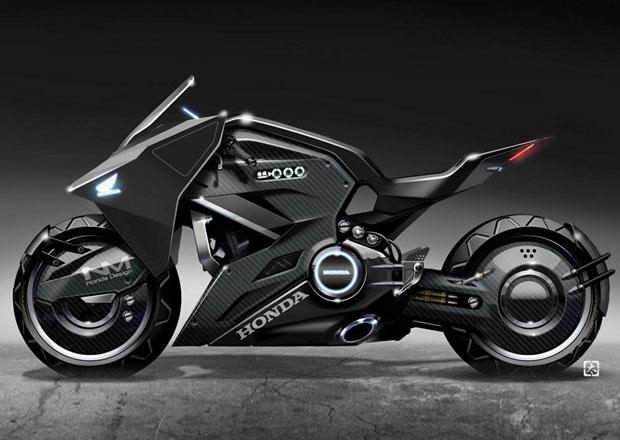 Honda připravila futuristickou motorku pro sci-fi se Scarlett Johansson