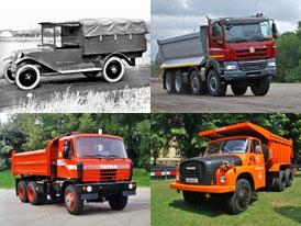 Tatra a její nejslavnější nákladní vozidla z minulosti i současnosti