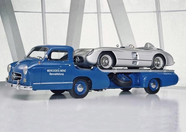 Mercedes-Benz Rennwagen-Schnelltransporter (1954): Náklaďák, který jezdil 170 km/h!
