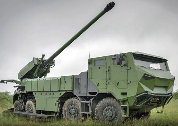 Tatra bude dodávat podvozky k houfnicím Caesar pro dánskou armádu