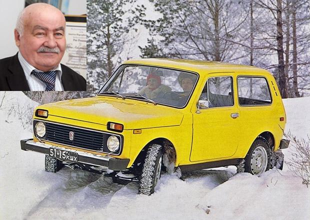 Zemřel konstruktér legendárního ruského terénního vozu Lada Niva