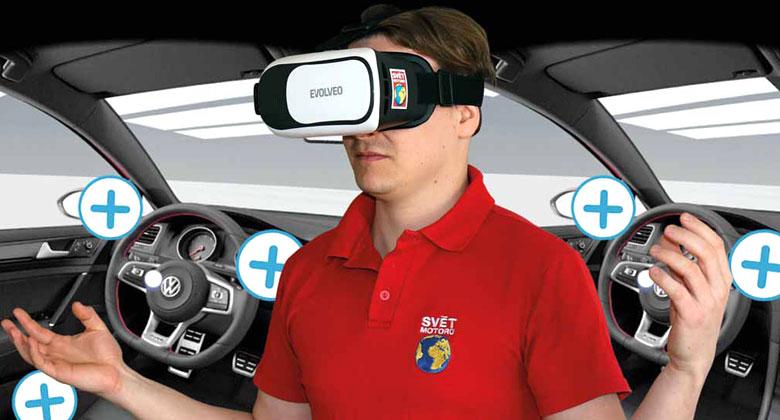 Vyzkoušeli jsme brýle pro virtuální realitu: Budeme takhle nakupovat nová auta?
