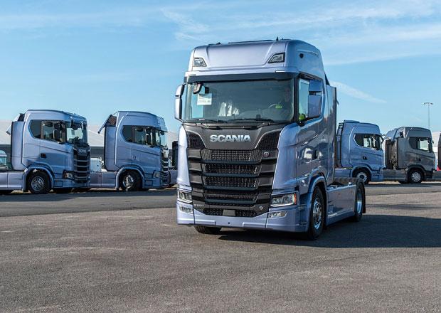 Scania hlásí rekordní tržby za loňský rok