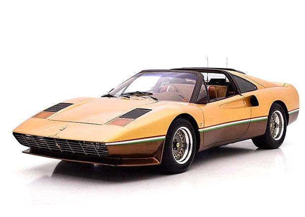 Krasavec, nebo kýč? Atypické Ferrari 308 GTS je k mání, stojí 5 milionů korun