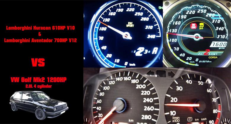Šílený VW Golf II od Boba Motoring s 1250 koňmi pobije moderní supersporty