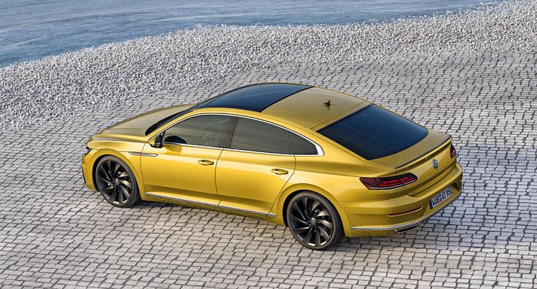 VW Arteon odhalil technická data. Jak rychlý je nástupce Passatu CC?