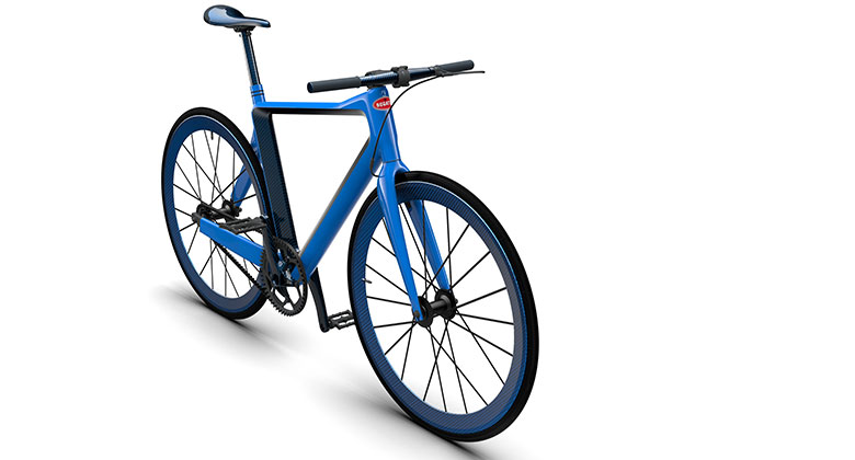 Je vám Bugatti Chiron málo? Kupte si k němu jízdní kolo. Za pouhý milion...
