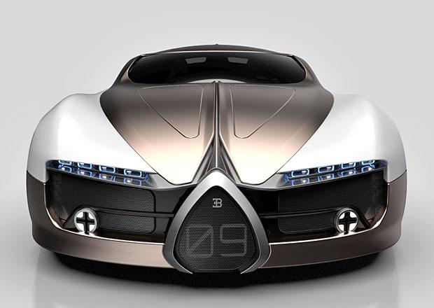 Bugatti Atlantic a 101P: Luxusní kupé i monopost formule 1 v představách designérů