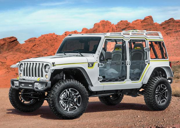 Jeep představuje drsné a stylové stroje pro Moab Easter Jeep Safari 2017