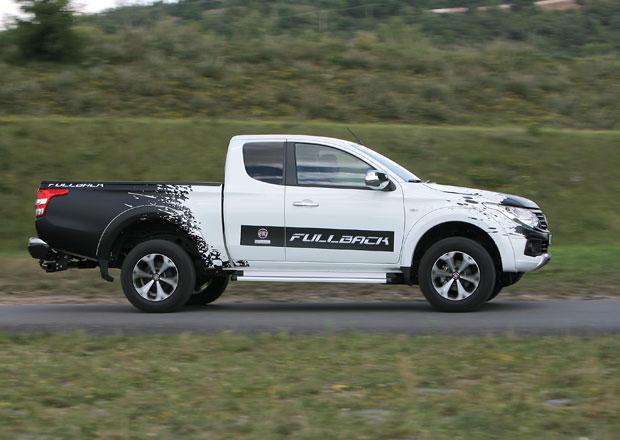 Fiat Fullback 2.4 Extended Cab LX: Velcí a malí