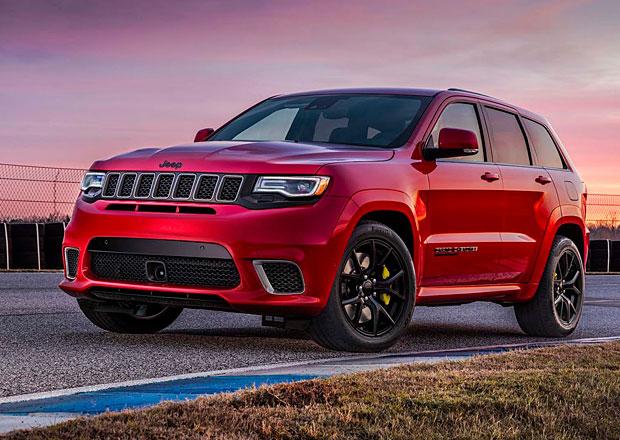 Jeep Grand Cherokee Trackhawk 2018 má drtivých 718 koní