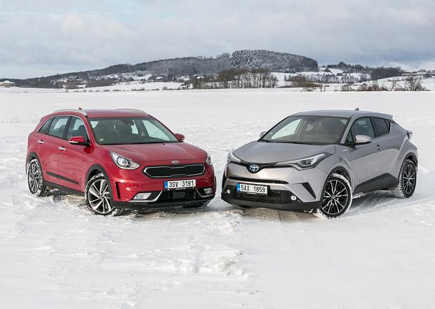 Kia Niro vs. Toyota C-HR – Když se kříží hybridy!