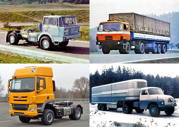 Tatra a všechny její tahače: Od modelu 138 až po moderní Phoenix!