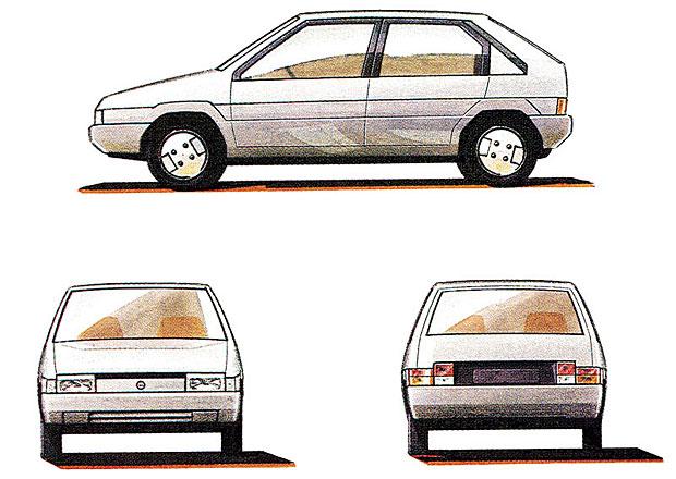 Škoda Favorit letos slaví 30 let. Podívejte se, jak měl původně vypadat