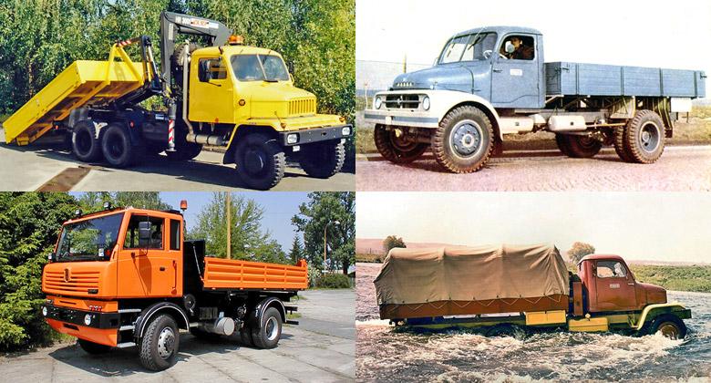 Praga a její nejslavnější poválečná nákladní vozidla