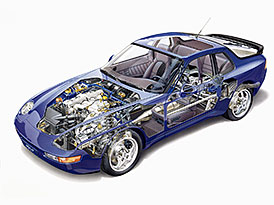 Koncepce pohonu aut: Jaké jsou výhody klasické koncepce nebo motoru uprostřed?