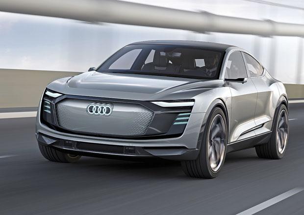 Audi e-tron Sportback komunikuje s okolím. Do výroby půjde za dva roky