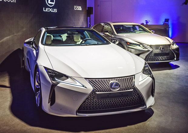 Lexus LC poprvé v Česku. Kolik stojí extravagantní kupé?