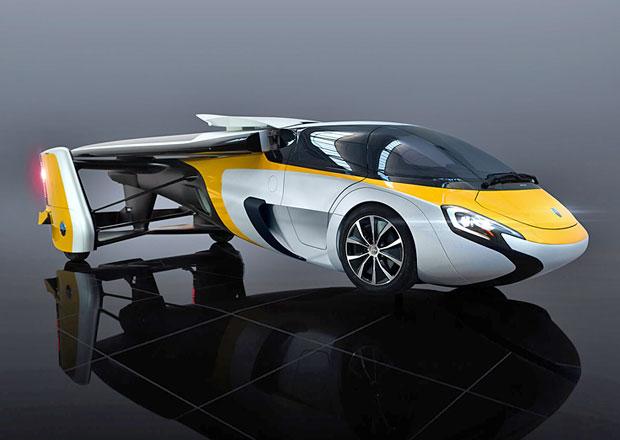 AeroMobil představil nový model létajícího auta. Stojí více než Bugatti Veyron!