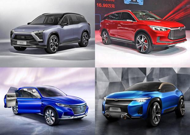 Shanghai Auto Show 2017: Evropské autosalony mohou závidět