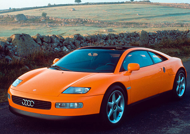 Zapomenuté koncepty: Audi Quattro Spyder (1991) - Hliník přichází