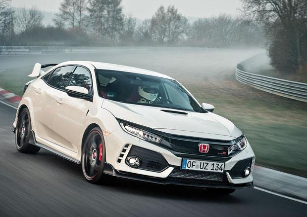 Honda Civic Type R je nejrychlejší předokolkou na Nürburgringu! Kolik naložila Golfu Clubsport S?