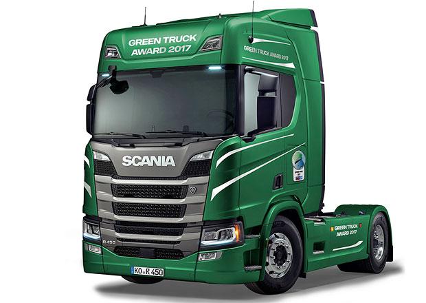 Scania získala ocenění Green Truck Award