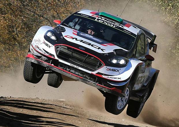 Po RZ9 Argentinská rallye 2017: Evans zvyšuje náskok