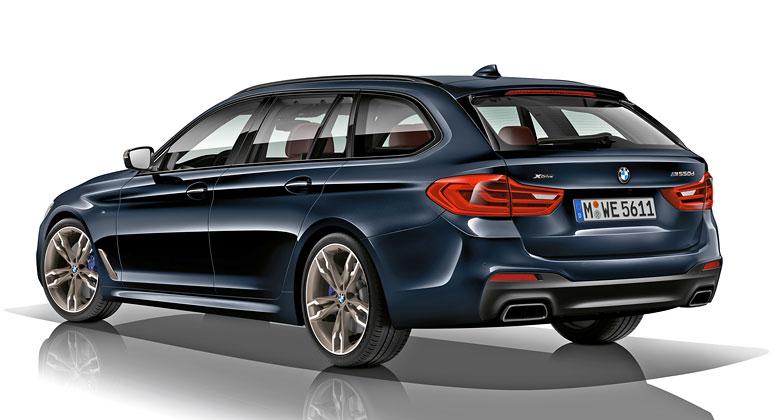 BMW M550d přichází. Co přináší nafta, šest válců a čtyři turba?
